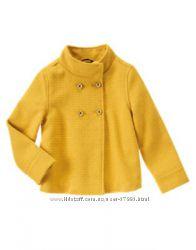 Нарядная курточка, пальто Джимбории на 6-8 лет, к ней шапочка и юбочка