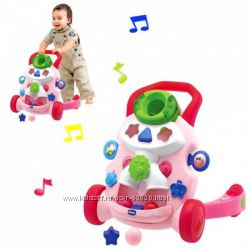 Chicco первые шаги ходунки-толкатель Baby Steps