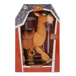 Конь Булзай  говорящий 40 см из мультфильма История игрушек Дисней ориги