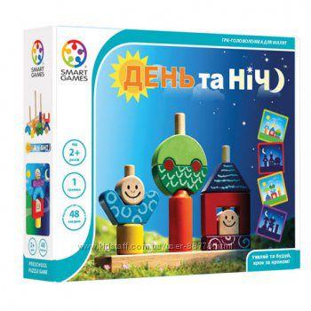 Настольная игра День и ночь Smart Games  День та ніч SG 033 UKR