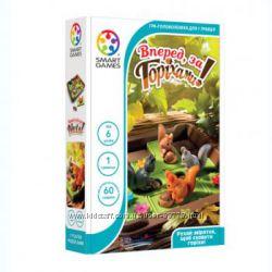 Настольная игра-головоломка Вперед за горіхами Smart Games SG 425 UKR