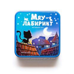 Мяу-лабиринт - веселая настольная игра для семьи или компании Chabyrinthe