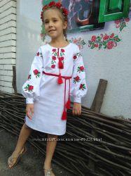 Вишиті дитячі сукні 4c57e8bc41230