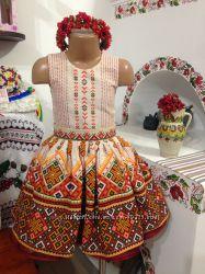 Святкові дитячі сукні в українському стилі 5d1b03a7b3b2a