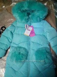 Красивое зимнее пальто KIKO 4976, 104-140