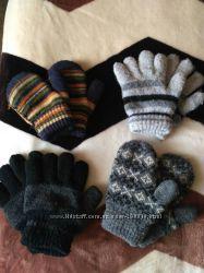 Перчатки, варежки разные