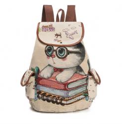 Рюкзак - умный котенок