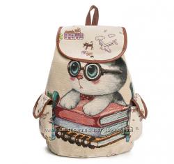 Рюкзак - ученый кот