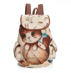 Рюкзак с котиком