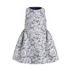Платье с бантом на спине Pampolina