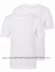 Набор белых футболок George для мальчика р. 122-128 см.