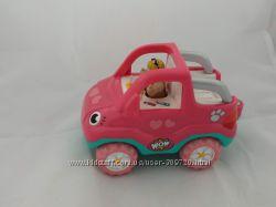 Машинка джип WOW для девочки, фигурка в подарок