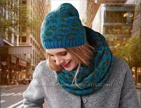 Вязаная шапка и шарф- снуд ТСМ TCHIBO