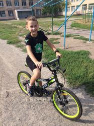 Велосипед від 5 до 9 років, колеса 20 дюймів, Jack Pride, відмінний стан