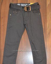 Школа. Котоновые брюки для мальчиков 122-146р Венгрия