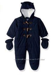 слитный теплый деми комбинезон 6-9 месяцев мальчик суперкачество бренд США