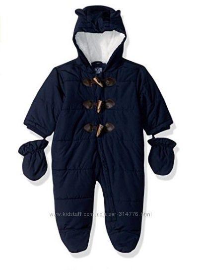 слитный зимний комбинезон 6-9 месяцев мальчик отличное качество бренд США