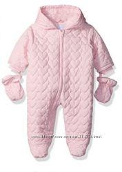еврозима стеганый слитный комбинезон девочка 9 месяцев Children&acutes Place США