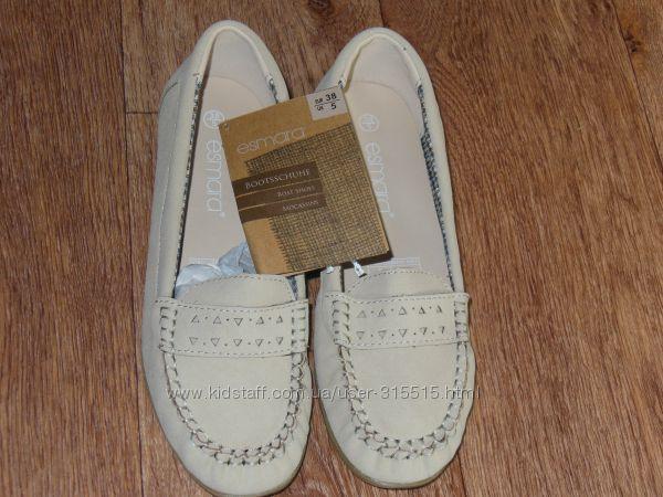 Туфли мокасины Esmara р 38 стелька 24, 5см