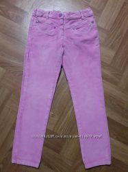 Брюки девочке велюровые розовые Chicco р. 116, но большемерят на 122-128