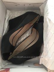 Туфли ALDO кожа с открытым носком р. 38