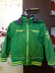 Двухсторонняя куртка-ветровка на мальчика