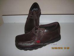 Kickers фирменные туфли кожа в школу 21-21. 3 см стелька