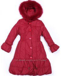 Kiko зимнее пальто для девочки, ростовка 140-170