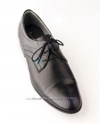 Модельные туфли на шнурках LEMAR, Польша новая коллекция