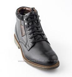 6445bbf7905b Теплые мужские зимние ботинки на натуральном меху KRISBUT, Польша ...