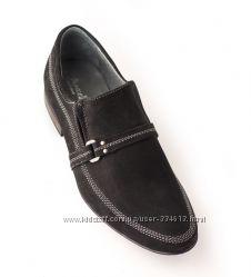Мужские туфли из натуральной замши LEMAR, Польша