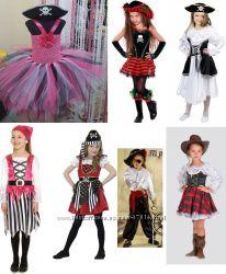 Костюм Піратки, розбійниці, ковбойки, пиратка на 6-9, 9-13 років - Позняки