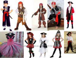 Костюм пірата, пирата, пірат капітан від 3 років до 155-170 см - Позняки