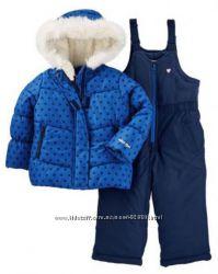 Зимний комбинезон для девочки OshKosh B&acuteGosh Osh Kosh Baby Girls
