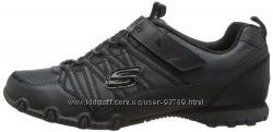 Original новые кожаные полуботинки SKECHERS Bikers School Daze 19. 7 см