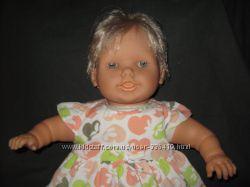 винтажная большая мимическая кукла Famosa