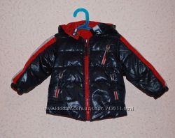 Зимняя двусторонняя куртка для мальчика р. 80, 12 мес. Pixel
