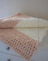 Плюшевое одеяло плед