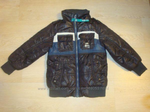 Теплые фирменные курточки разные, р. 104