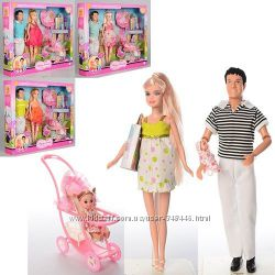 Набор кукол 8088 семья Defa беременная. Кен и Дефа