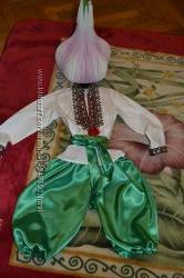 Часнок карнавальный костюм с реалистической шапкой