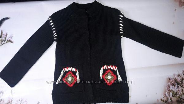 Кардиган Zara в  стиле Бохо 116 р