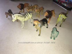 Резиновые фигурки животные