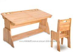 Продам парту Абсолют-мебель с-886 плюс два стульчика