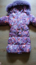 Зимнее пальто , курточка на 6-7 лет 110-120 рост
