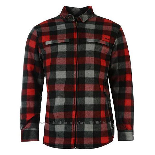 Теплая флисовая куртка рубашка с мехом Lee Cooper