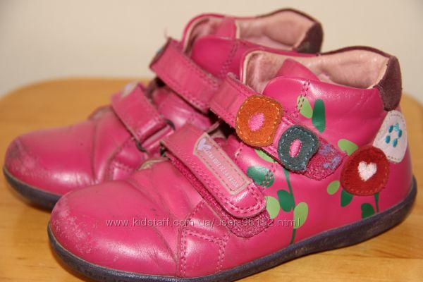 Испанские кожанные ботиночки Р. 27