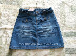 tape-a-loeil, Новая джинсовая юбка, 14 лет
