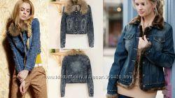куртка джинсовая  шикарная Terranova Италия р. M