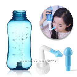 Промывание носа, гайморит, ринит, лечение насморка